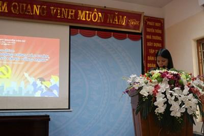 Tọa đàm nâng cao chất lượng công tác Đoàn góp phần xây dựng Đảng vững mạnh trên báo tuoitrethudo.com.vn