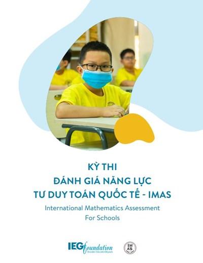 Thông tin đăng ký Vòng 1 kỳ thi đánh giá năng lực tư duy toán học IMAS lần thứ 7 (2021-2022) tại Việt Nam