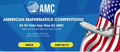 Thông báo tài khoản thi thử và ôn tập của 103 thí sinh dự kỳ thi amc8