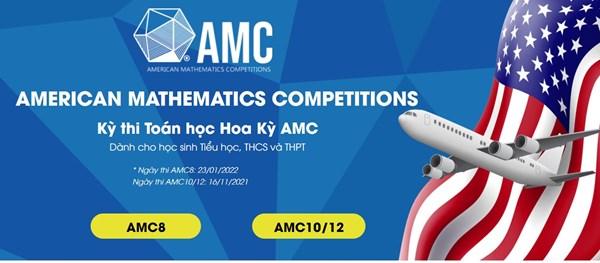 Thông báo thời gian thi thử trực tuyến của kỳ thi toán học hoa kỳ amc8 năm 2021