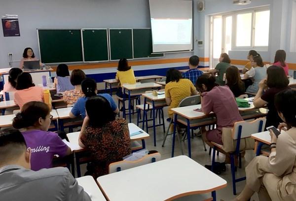 Nâng cao chất lượng giảng dạy của giáo viên qua tập huấn chuyên đề