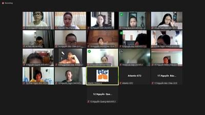 116 thí sinh tham gia khảo sát trực tuyến đầu vào lớp tiếng anh bổ trợ theo chuẩn đầu ra cambridge – trường thcs nam từ liêm