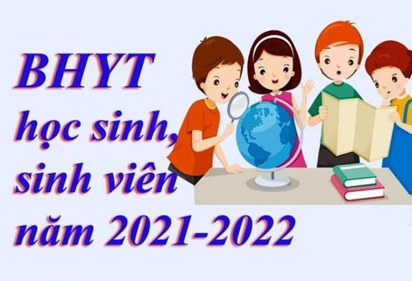 Chi tiết về chính sách bảo hiểm Y tế học sinh, sinh viên năm 2021-2022