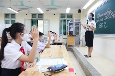 Hà Nội: Dạy học trực tiếp khi khống chế được dịch COVID-19