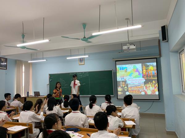 Chuyên đề: tìm hiểu lễ hội dân tộc  thông qua dạy học môn tiếng anh