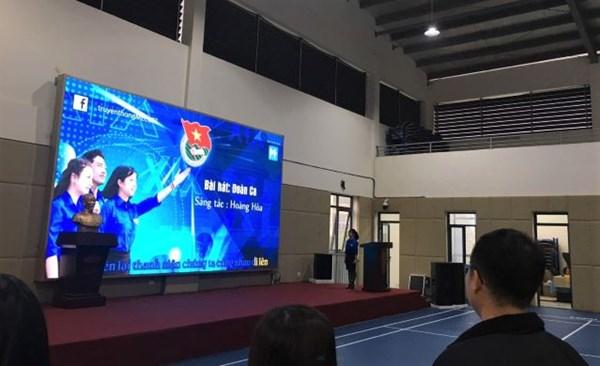 Trường THPT Khương Đình rộn ràng trong Lễ kỉ niệm 90 năm thành lập Đoàn THCS Hồ Chí Minh