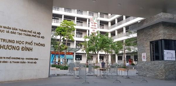 Những công tác chuẩn bị kĩ càng cuối cùng cho kì tuyển sinh vào lớp 10 năm học 2021 - 2022 tại điểm trường THPT Khương Đình
