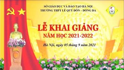 Lễ khai giảng năm học mới (2021-2022)