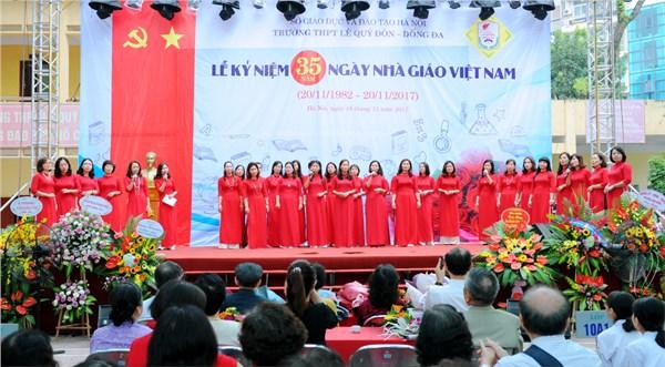 Mùa xuân đầu tiên - Biểu diễn - Tập thể giáo viên nữ Trường THPT Lê Quý Đôn - Đống Đa