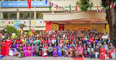 Lễ kỉ niệm 50 năm thành lập trường THPT Lê Quý Đôn - Đống Đa