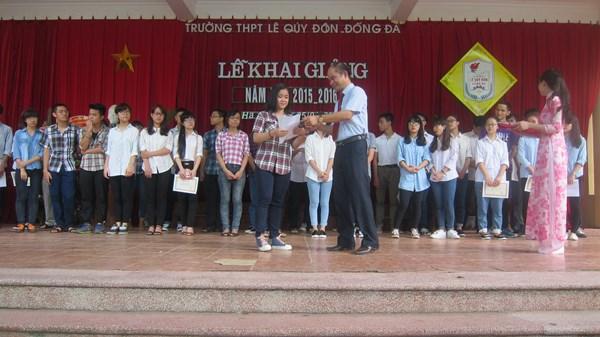 Danh sách hoc sinh xuất sắc trong kì thi THPT Quốc gia 2015