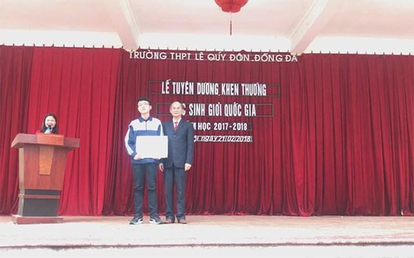 Lễ tuyên dương - khen thưởng học sinh giỏi Quốc gia