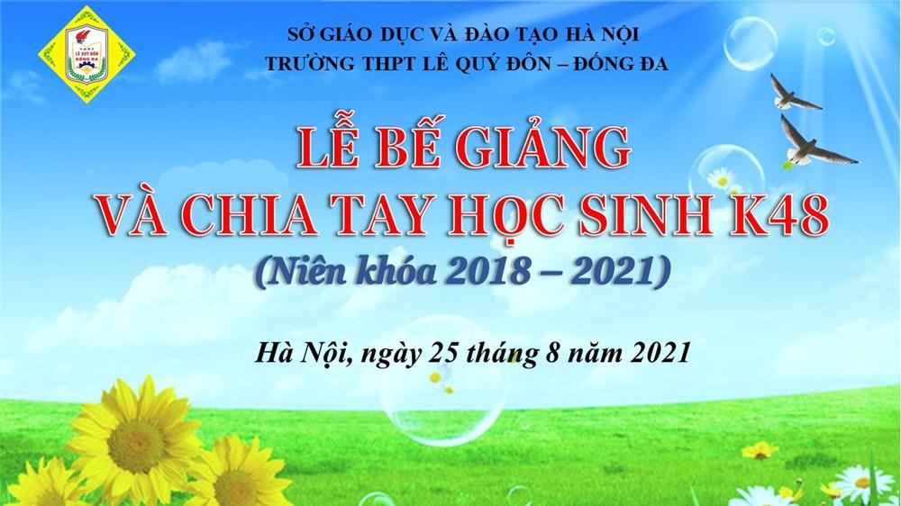 """<a href=""""/su-kien-noi-bat/le-be-giang-va-chia-tay-hoc-sinh-k48-2018-2021/ct/1406/8944"""">Lễ Bế giảng và chia tay học sinh K48 (2018 - 2021)</a>"""