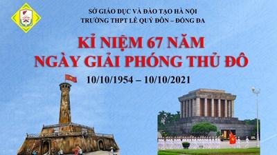 Sinh hoạt chuyên đề: Kỉ niệm 67 năm ngày Giải phóng Thủ đô (10/10/1954- 10/10/2021)