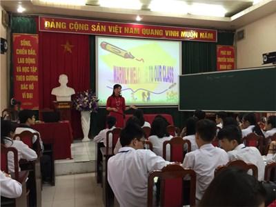 Hội giảng cấp trường chào mừng 34 năm ngày Phụ nữ Việt Nam 20-10
