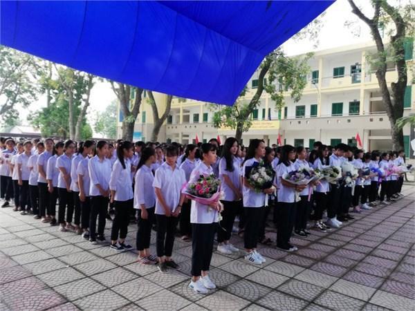 Lễ khai giảng và đón học sinh lớp 10 năm học mới 2018-2019