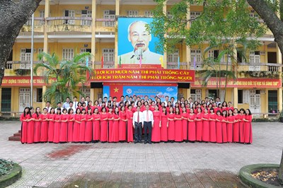 Trường trung học phổ thông liên hà, truyền thống 50 năm xây dựng và phát triển
