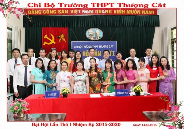 Chi bộ THPT Thượng Cát