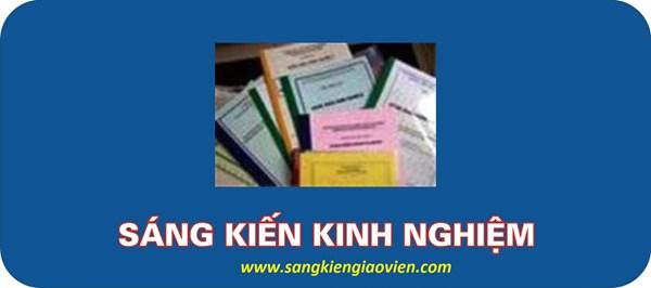 Kết quả SKKN năm học 2019-2020
