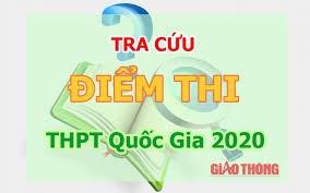 Thông báo địa chỉ tra cứu điểm thi tốt nghiệp THPT năm 2020t