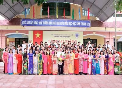 Trường THPT Thượng Cát 15 năm hình thành và phát triển