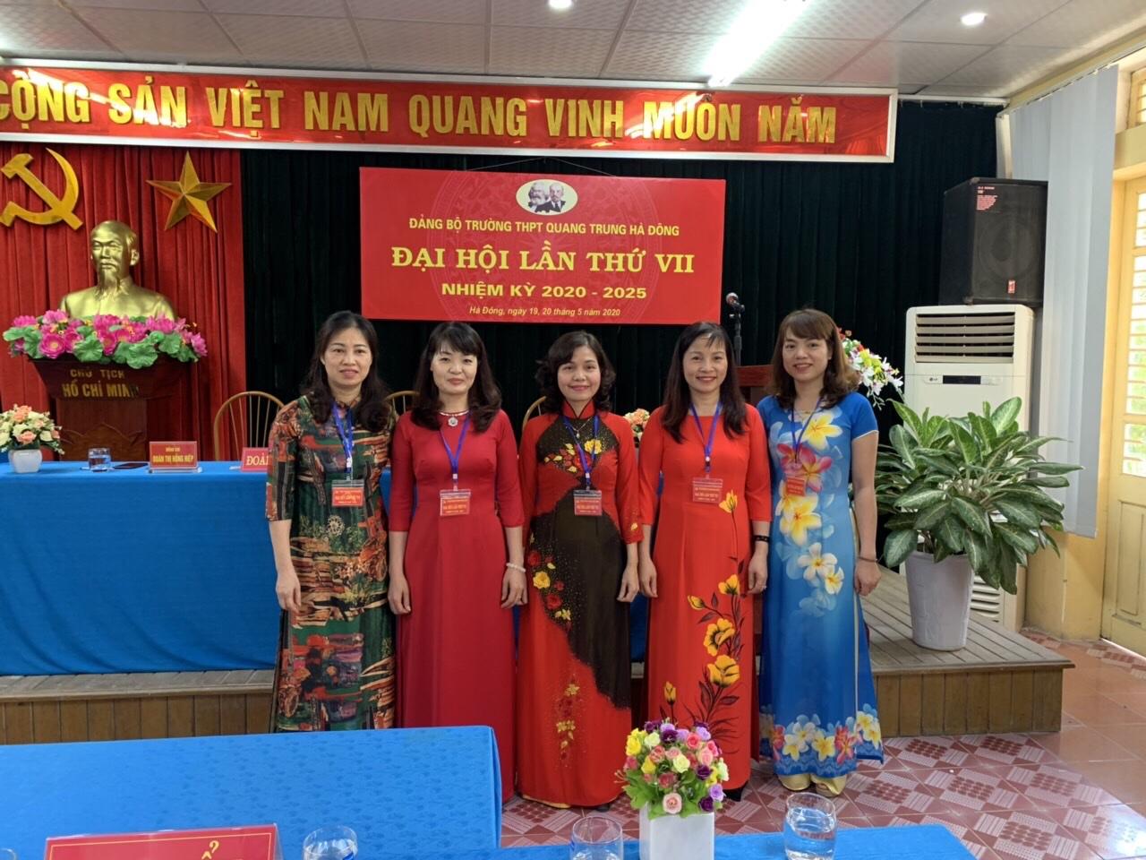 Đảng bộ trường THPT Quang Trung Hà Đông
