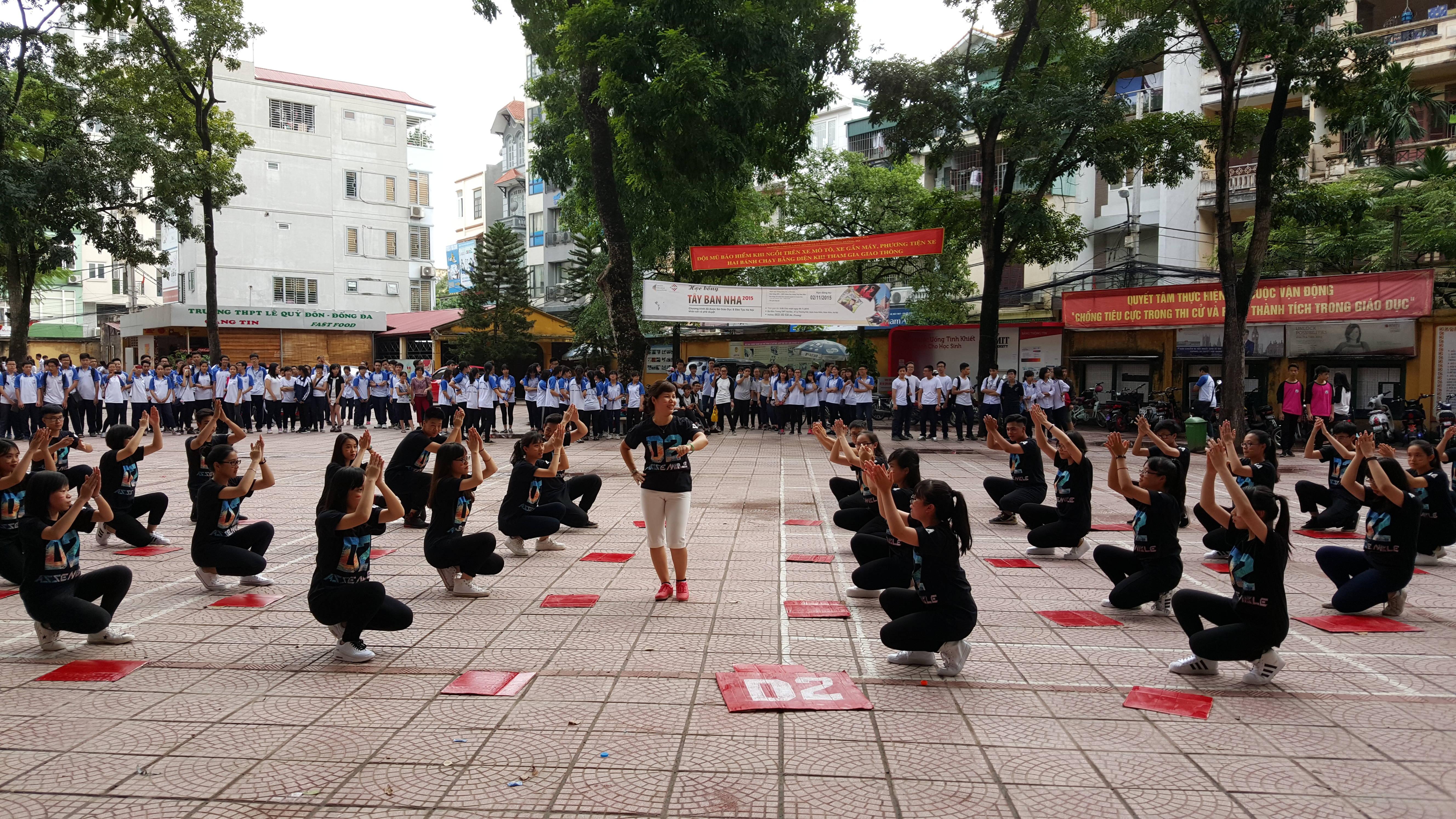 Sơ khảo cuộc thi Flashmob