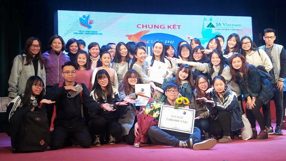 """THPT Lê Quý Đôn - Đống Đa """"đại thắng"""" tại cuộc thi """"Ước mơ của tôi- Tương lai của tôi"""" 2016"""