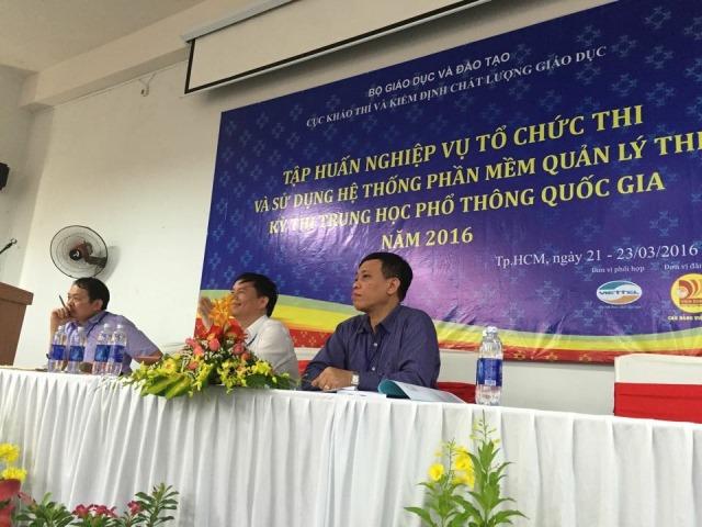 Lịch thi THPT Quốc gia 2016