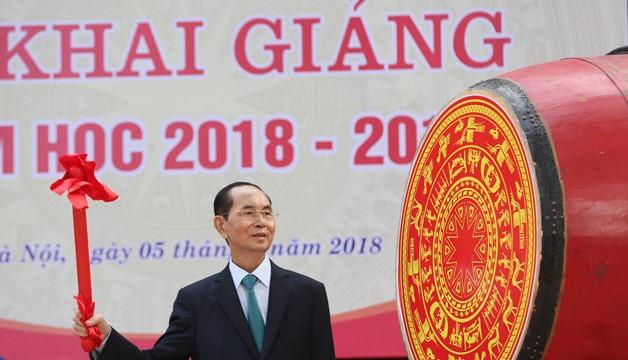 Thư chúc mừng nhân dịp năm học mới 2018-2019 của Chủ tịch nước