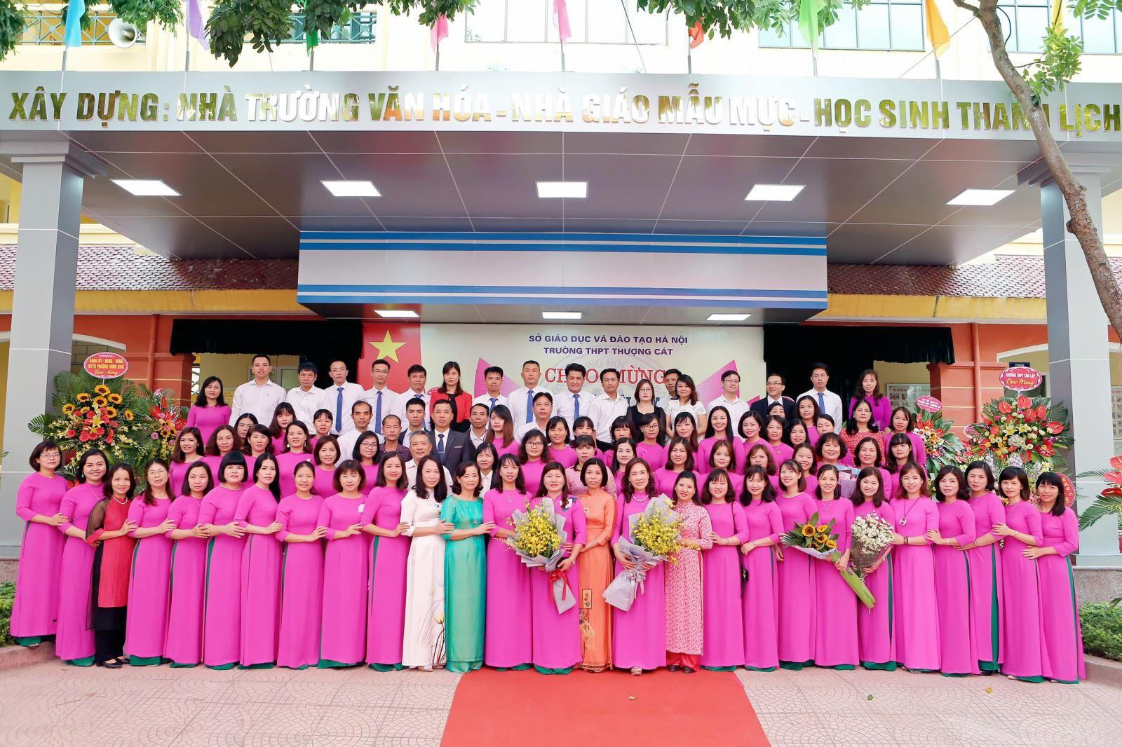 Thành tích nổi bật của Cán bộ, Giáo viên viên và học sinh trường THPT Thượng Cát