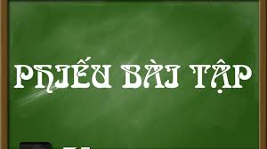 Phiếu bài tập số 06 dành cho học sinh khối 11 áp dụng từ ngày 27/04/2020 đến ngày 02/05/2020