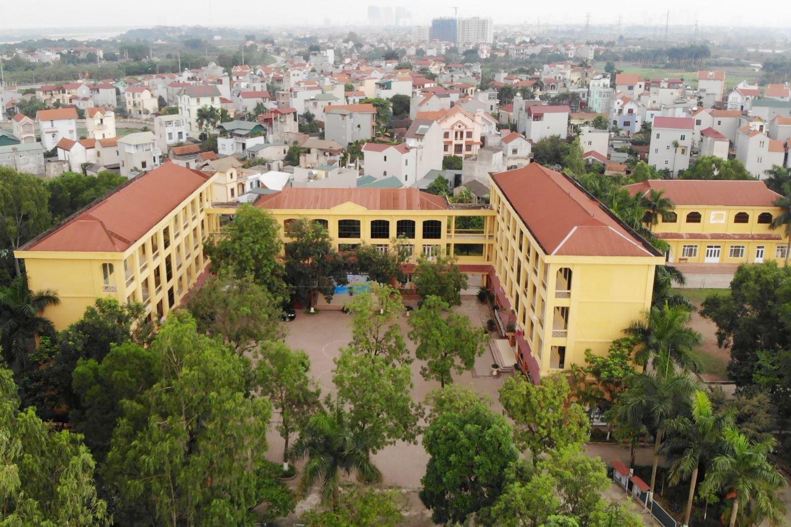 1 số hình ảnh trường THPT Thượng Cát năm học 2019-2020