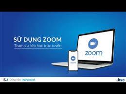 Tài liệu hướng dẫn sử dụng phần mêm  Zoom